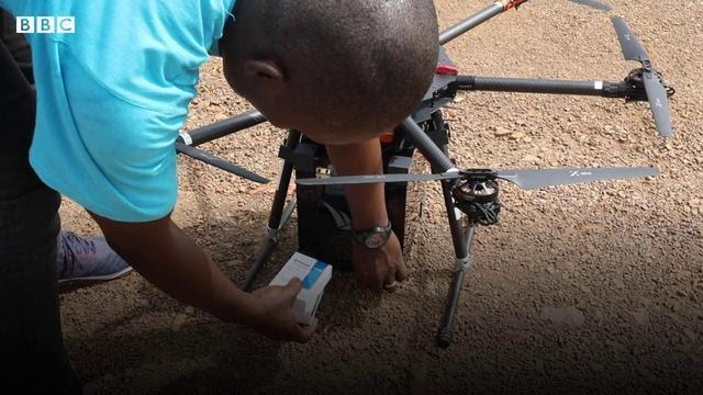 Profissionais de saúde esperam enviar e receber medicamentos em áreas remotas por drones