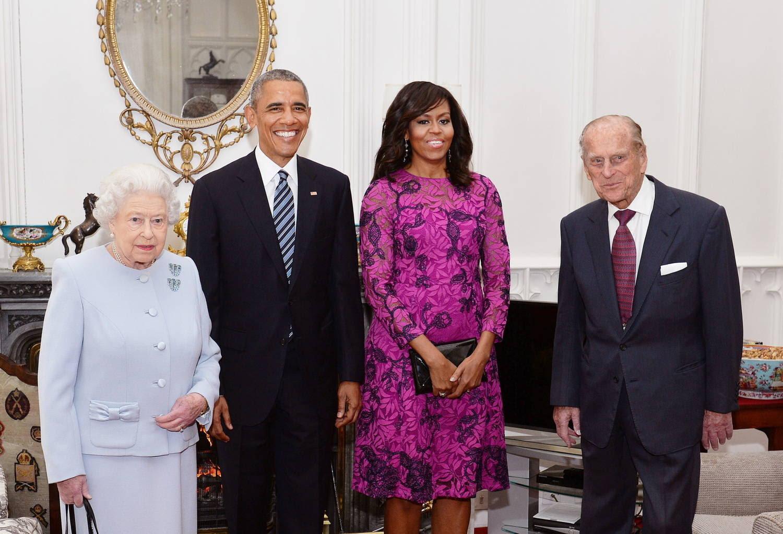Philip acompanhou a rainha em cerimônias oficiais e conheceu líderes de diversos países