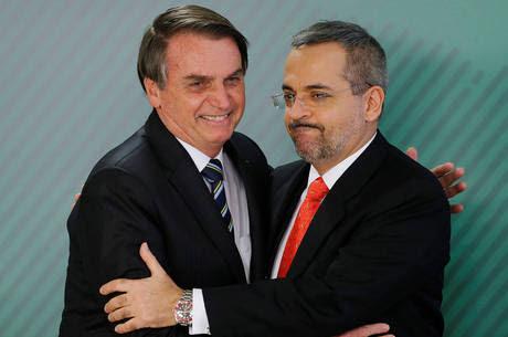 Bolsonaro deu posse a Weintraub em abril de 2019